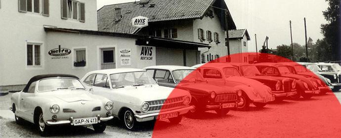 Avis wird in Deutschland 50 Jahre alt - hier die Station in Garmisch Partenkirchen