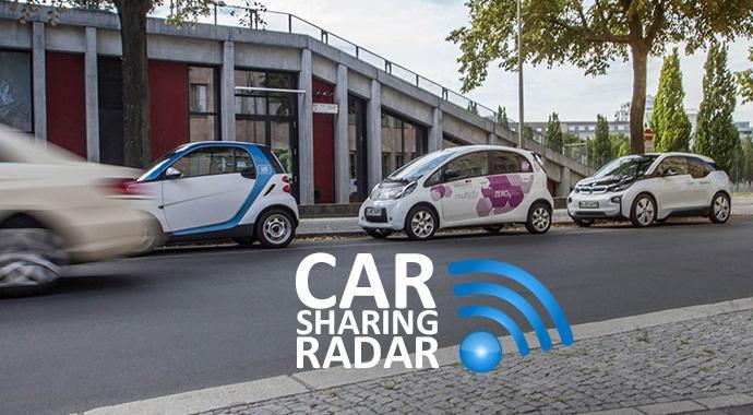 Carsharing-Radar 13|2016: Carsharing im ADAC Test mit guten Ergebnissen