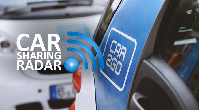 CarsharingRadar - Carsharing kommt gut an