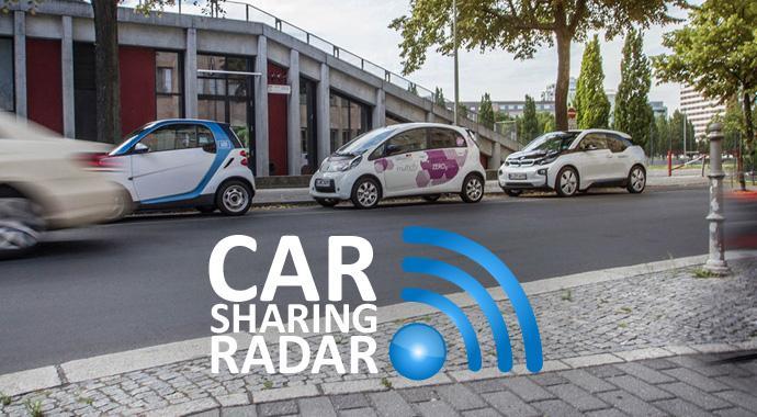 Ein Prozent aller Autofahrten werden in Berlin mit Carsharingautos absolviert
