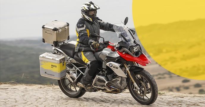 Bei Hertz Motorräder mieten - geht jetzt in Frankreich