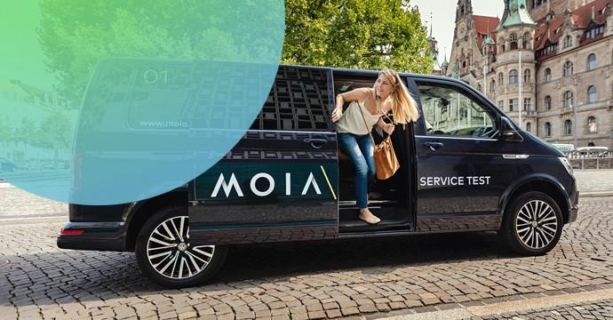 MOIA legt los - VW testet Ridesharing mit Multivan T6 auf Abruf