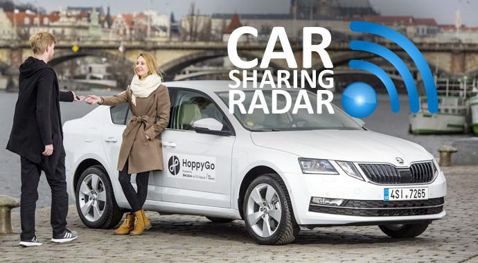 CarsharingRadar_14.2018: Skoda steigt mit dem eigenen Peer-to-Peer-Anbieter HoppyGo ins Carsharing ein