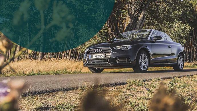 Audi A3 Cabrio von VWFS Rent a car | MietwagenTest für Stadt, Land Autobahn