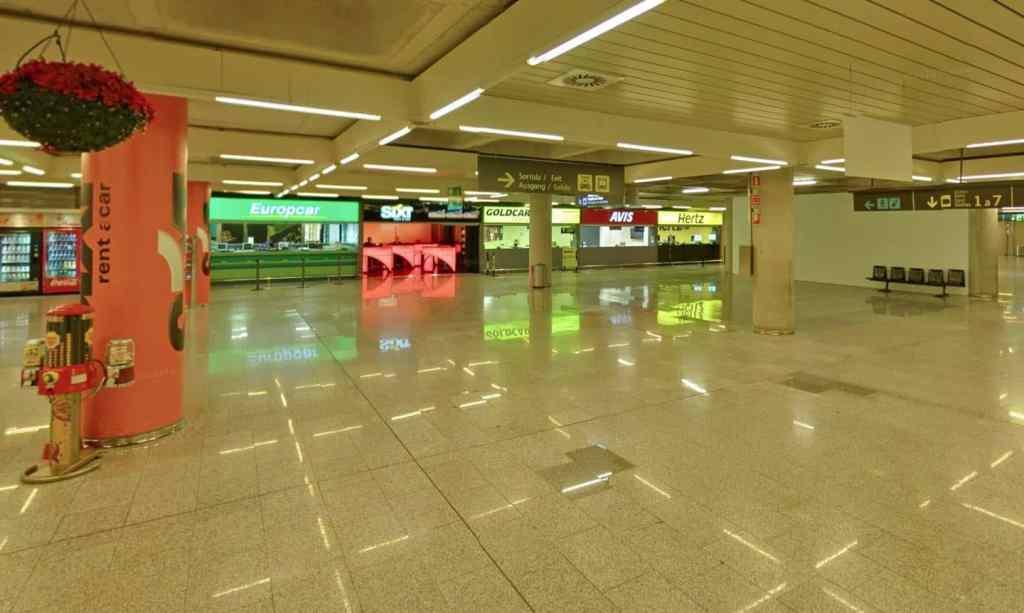 Mallorca-Flughafen-Mietwagen-Stationen