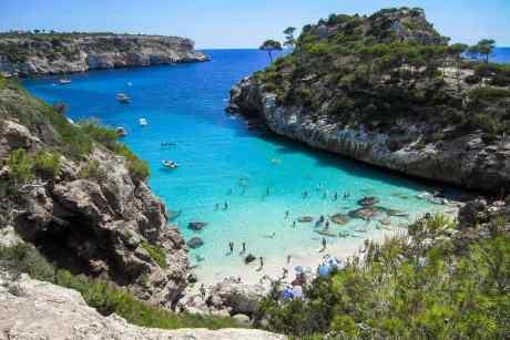 Bucht am Strand Mallorca