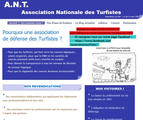 Association Nationale des Turfistes