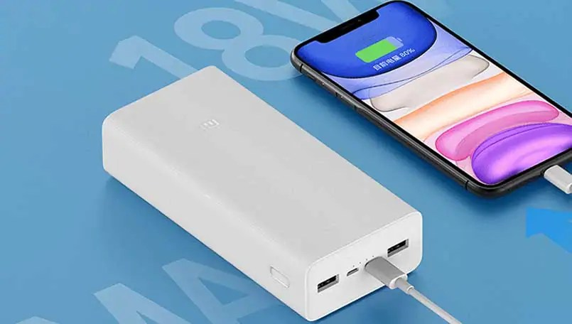 mi power ban 3 quick charge