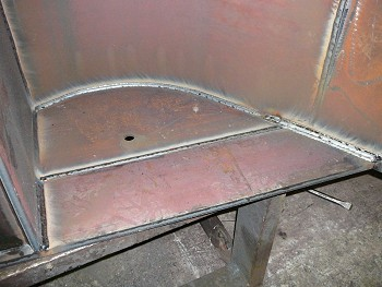 Weldox welded using MIG process