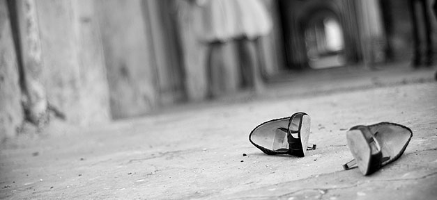 Gewalt gegen Frauen © NTLam auf flickr.com (CC 2.0), bearb. MiG