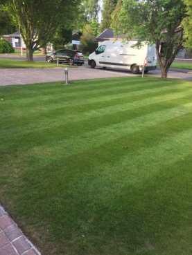 Uddingston Grass Cutting After
