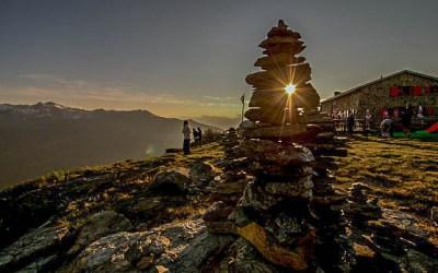 Sommer in den Bergen dews Val d'Anniviers
