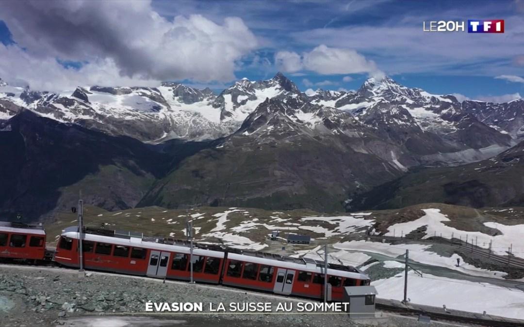 Reportage TF1 sur le Valais