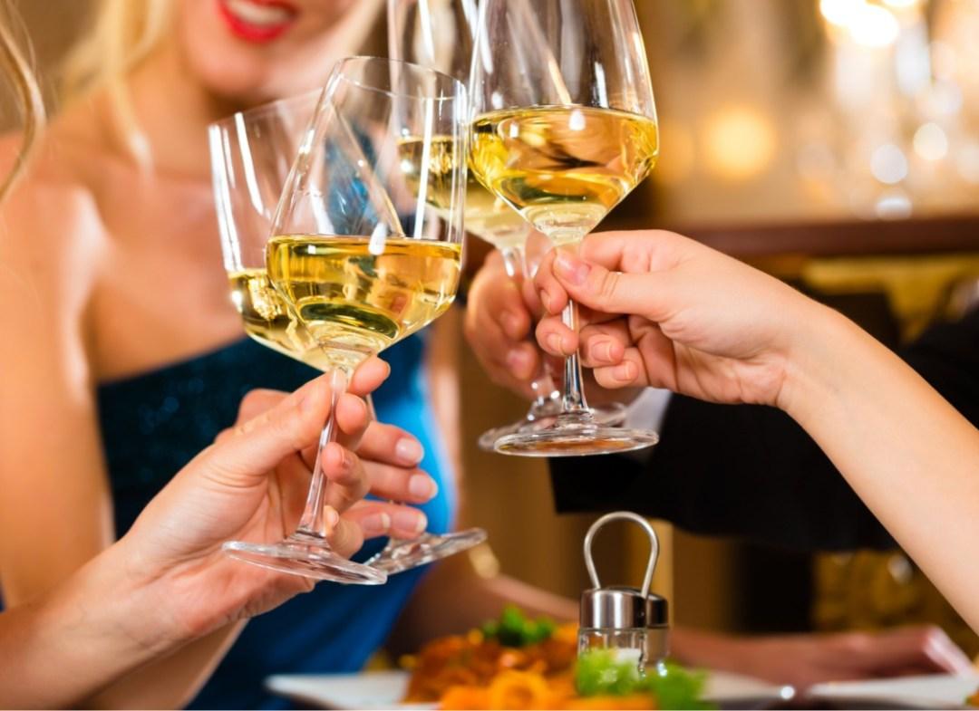 Weinverkostung in Champéry