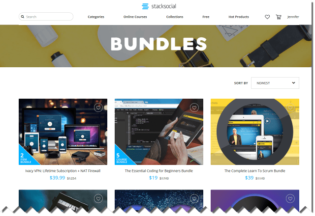 Stack Social bundle collections of training