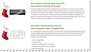 Tawnya Sutherland VA Network Christmas giveaway for business owners free gifts