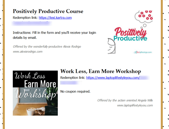 WorkLessDoMore 2019 Bundle business productivity products courses