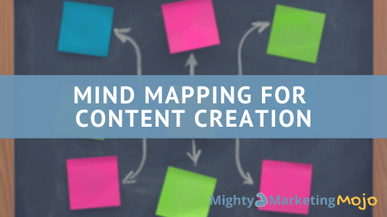 Mind Mapping for Mighty Content Creation Post-Its Drawings