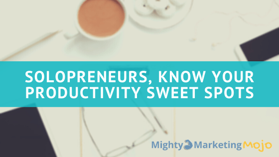 Clean Desk Solopreneur Small Business Productivity