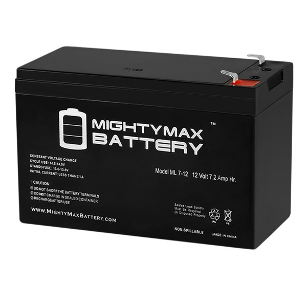 12V 7.2AH SLA Battery Replaces Vexilar FLX-28 ProPack II Flasher