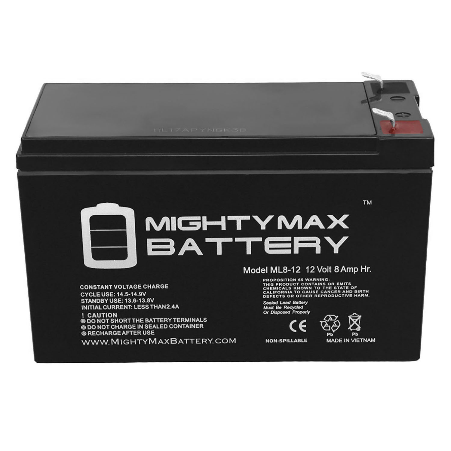 Mighty Max Battery 12V 9Ah SLA Battery Replacement for Minuteman ETR700P15-6 Pack Brand Product