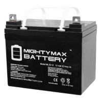 12V 35Ah SLA Battery Replacement for Quickie P120 22NF Wheelchair