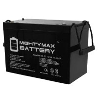 12V 100Ah SLA Battery for YAKea R100, R100+ Solar Generator