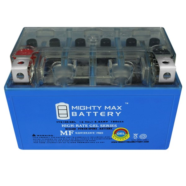 12V 8.6AH GEL Battery Replaces Yamaha Morphous CP 250 CP250X 2008