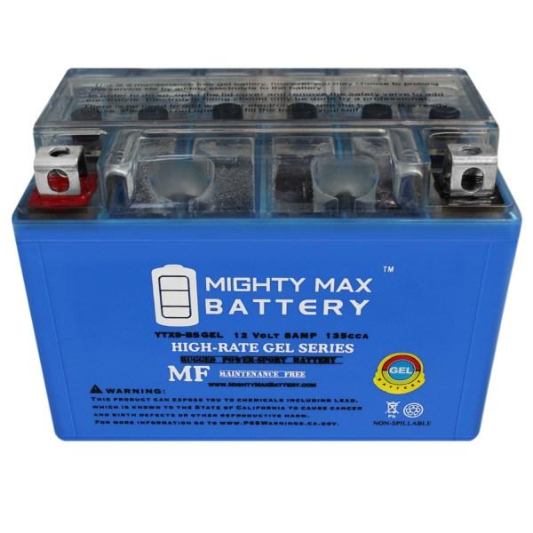 YTX9-BS GEL – 12V 8AH Power Sports Battery