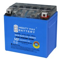 12V 6AH GEL Battery Replacement for Yamaha 250 WR250F X, R 2018