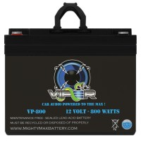 Viper VP-800 12V 800 Watt Audio Battery for BOSS Audio NX1600.2 Onyx