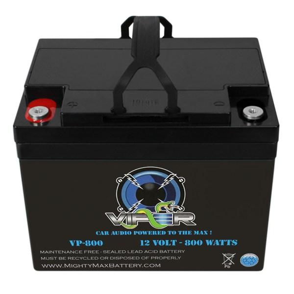 Viper VP-800 12V 800 Watt Audio Battery for AUTOTEK ATA8002