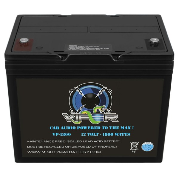 Viper VP-1800 1800 Watt Audio Battery for Hifonics ZRX1816.1D ZEUS