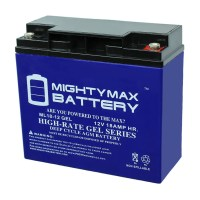 12V 18AH GEL Battery Replacement for CSB EVX12200