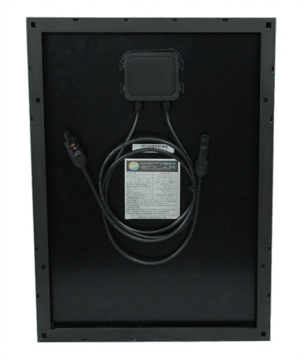 20 Watt Black Frame Monocrystaline Solar Panel