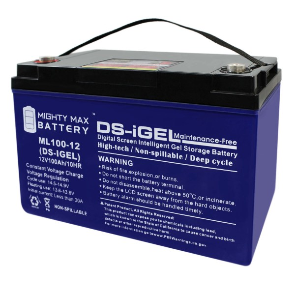 12V 100AH GEL Battery Replacement for Jasco M6IT