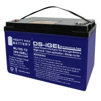 12V 100AH GEL Battery Replacement for SPG-3000 Watt Compact Generator