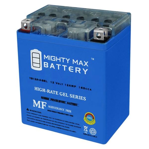 12V 12AH 165CCA GEL Battery Replaces Kawasaki 550 ZX550-A GPz 85-86