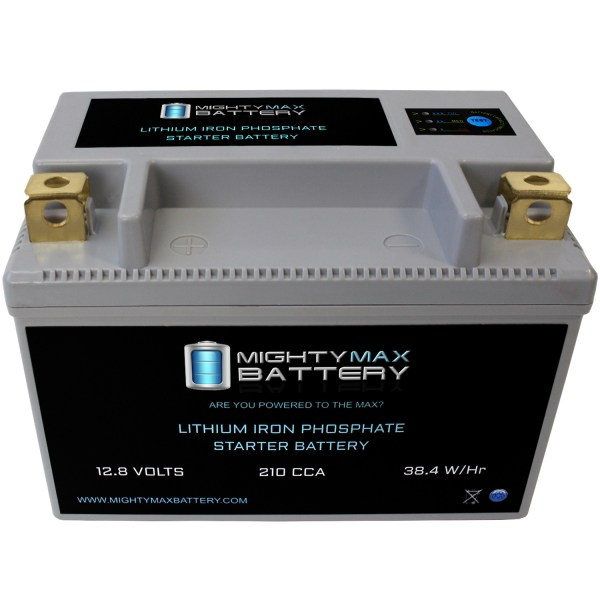 YTX9-BSLIFEPO4 12V 210CCA Lithium Iron Phosphate Battery