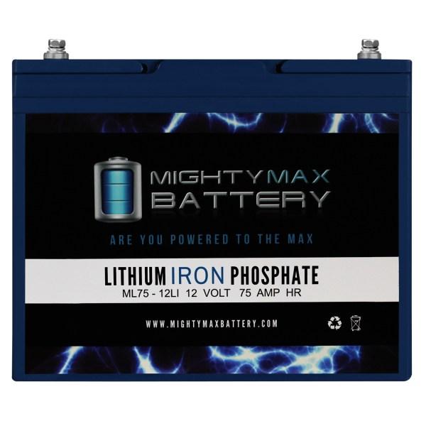 12V 75AH Lithium Battery Replacement for Pride Quantum 1470 Patriot