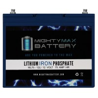 ML75-12LI – 12V 75AH Deep Cycle Lithium Battery