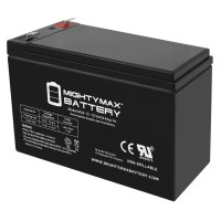 12V 8Ah SLA Battery Replaces MarCum LX-5 Ice Fishing Sonar