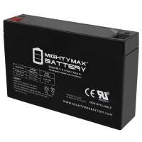 6V 7Ah SLA Battery Replacement for President PE6A-6