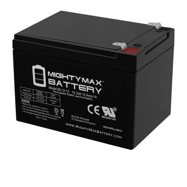 12V 12Ah F2 PEG PEREGO RAPTOR REPLACEMENT BATTERY FAST SHIPPING