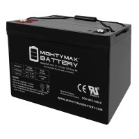 12V 100Ah SLA AGM Battery Replacement for Permobil Trax Sports