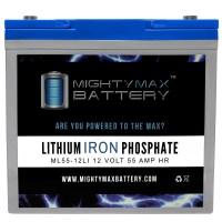 ML55-12LI - 12V 55AH Deep Cycle Lithium Battery