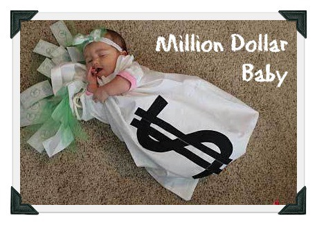 DIY baby costume for million dollar baby - MightyMoms.club