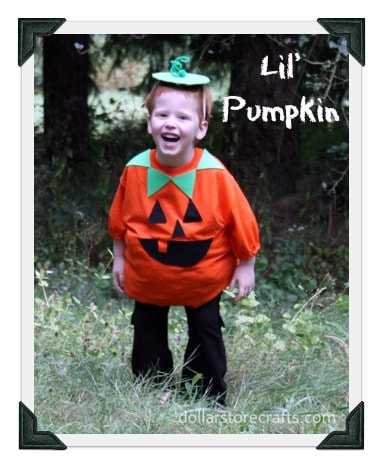23 diy baby costumes you can make for under 5 incredible infant diy baby costume for a pumpkin mightymomsub solutioingenieria Choice Image