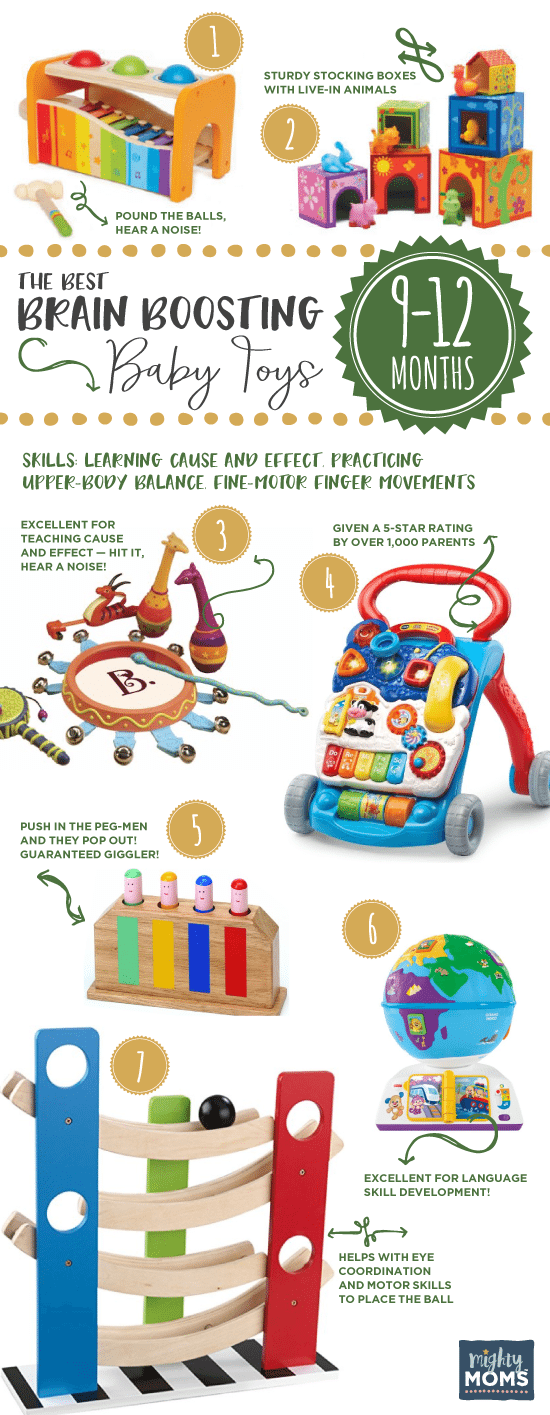 9-12 Months: The Best Brain-Boosting Baby Toys: A Buying Guide for Smart Parents - MightyMoms.club