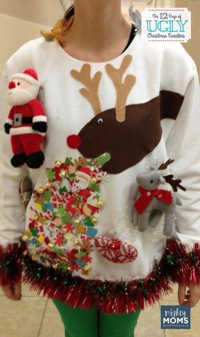 The 12 Days Of Ugly Christmas Sweaters Incredible Infant